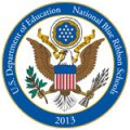 Department of Education National Blue Ribbon School Logo