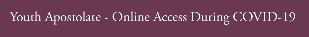 Youth Apostolate Online